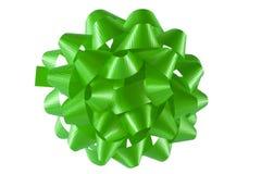 зеленый цвет смычка Стоковая Фотография