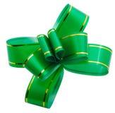 зеленый цвет смычка стоковое фото