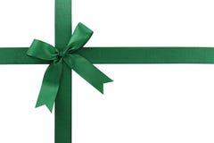 зеленый цвет смычка Стоковое фото RF