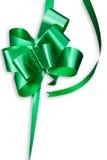 зеленый цвет смычка Стоковое Изображение RF