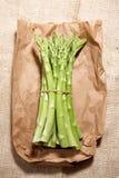 зеленый цвет спаржи свежий Стоковые Фотографии RF