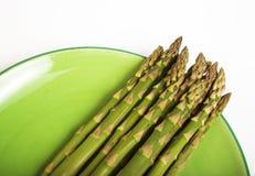 зеленый цвет спаржи Стоковое Изображение RF