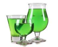 зеленый цвет спирта Стоковое Изображение