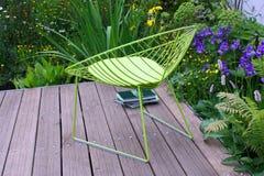 зеленый цвет стула Стоковые Изображения RF