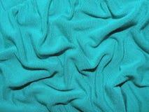 зеленый цвет ткани Стоковое Изображение
