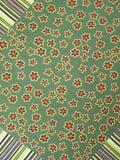зеленый цвет ткани Стоковые Фотографии RF