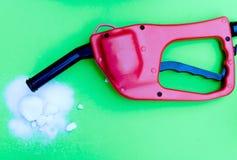 зеленый цвет топлива этанола Стоковая Фотография