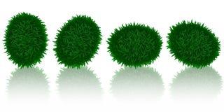 зеленый цвет травы s пасхального яйца Стоковое Фото