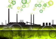 зеленый цвет фабрики Стоковое фото RF