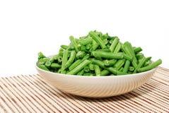 зеленый цвет фасолей свежий Стоковая Фотография RF