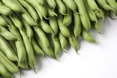 зеленый цвет фасолей французский Стоковые Изображения