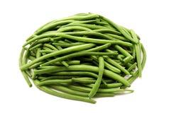 зеленый цвет фасолей Стоковые Изображения