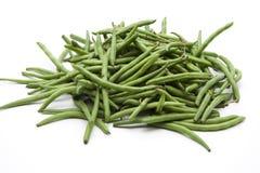зеленый цвет фасолей Стоковая Фотография