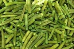 зеленый цвет фасолей Стоковые Фотографии RF