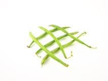 зеленый цвет фасолей Стоковые Изображения RF