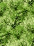 зеленый цвет фракталей предпосылки иллюстрация вектора