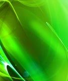 зеленый цвет фрактали Стоковое фото RF