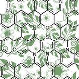 зеленый цвет химии Стоковая Фотография RF