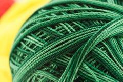 зеленый цвет хлопка Стоковые Фотографии RF