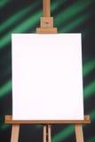 зеленый цвет холстины предпосылки черный пустой Стоковое Изображение RF