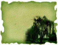 зеленый цвет холстины Стоковое Изображение RF