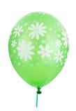 зеленый цвет цветка украшения воздушного шара Стоковое Фото
