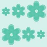 зеленый цвет цветков Стоковые Фотографии RF