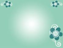 зеленый цвет цветков Бесплатная Иллюстрация
