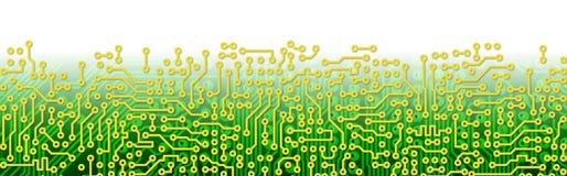 зеленый цвет цепи граници доски графический иллюстрация штока