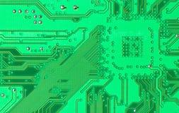 зеленый цвет цепи доски Стоковое Фото
