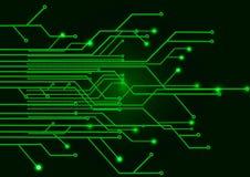 зеленый цвет цепи доски Стоковые Изображения RF