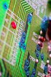 зеленый цвет цепи доски Стоковое фото RF