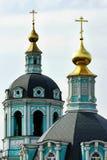 зеленый цвет церков Стоковые Фотографии RF