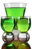зеленый цвет чашек Стоковые Изображения RF