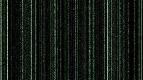 зеленый цвет Черного кодекса предпосылки бинарный Стоковая Фотография RF