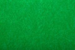 Зеленый цвет чувствуемый на таблице казино Стоковые Фотографии RF