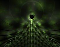 зеленый цвет чужеземца Стоковые Фото