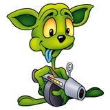 зеленый цвет чужеземца Стоковая Фотография RF