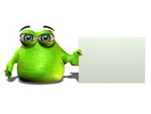 зеленый цвет шарика Стоковое Изображение
