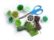 зеленый цвет шариков стоковые изображения rf