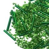 зеленый цвет шариков Стоковые Фотографии RF