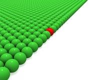 зеленый цвет шариков иллюстрация вектора