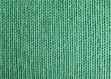Зеленый цвет шерстяной ткани Стоковое Изображение