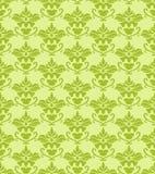 зеленый цвет штофа предпосылки безшовный иллюстрация вектора
