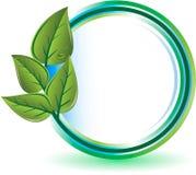 зеленый цвет экологичности принципиальной схемы Стоковые Изображения