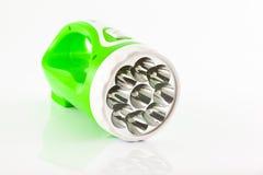 зеленый цвет электрофонаря Стоковые Фото