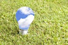 зеленый цвет энергии принципиальной схемы Стоковые Изображения