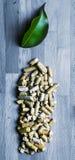 зеленый цвет энергии свечки биомассы Стоковые Изображения