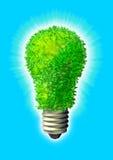 зеленый цвет энергии eco Стоковое фото RF