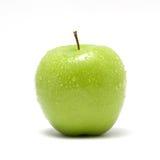 зеленый цвет яблока свежий Стоковое Фото